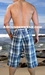 Men's Bermuda Shorts - Assorted Plaids Color BIG Mens