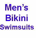 Men's Bikini Swimsuits & Brief Styles
