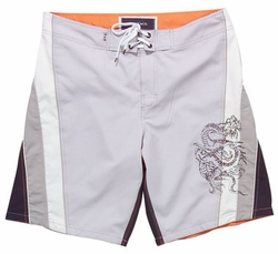 Men's Board Short with Embroidery