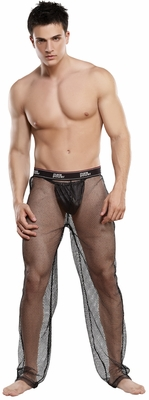 Men's Fishnet Pants