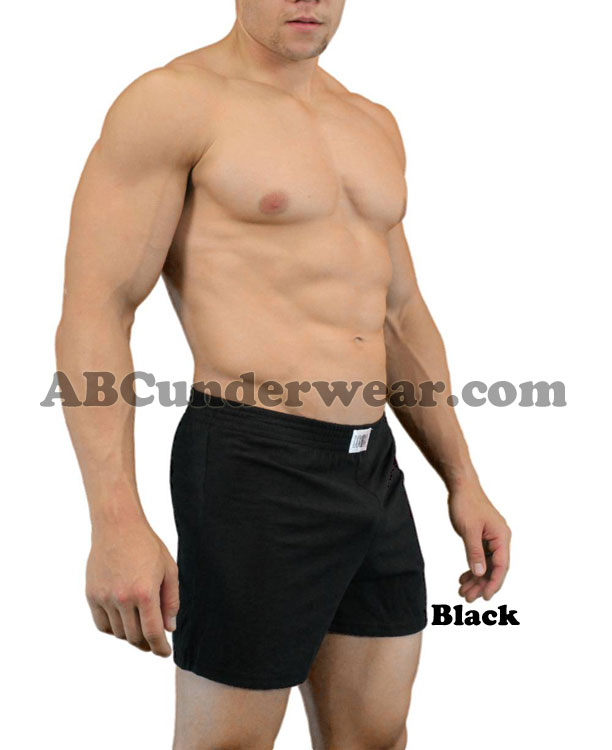 Cotton Blend Gym Shorts by LOBBO