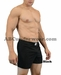 Men's Cotton Blend Gym Shorts by LOBBO
