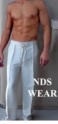 Men's Linen Pants - Clearance