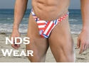 Men's Patriotic Men's Swim Thong