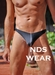 Men's Thong Swimsuit Contrast