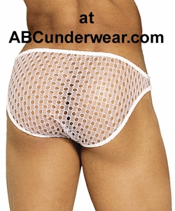 Men's Thong with Holes