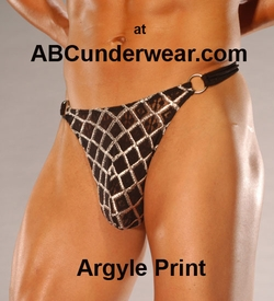 Men's Thong with side rings