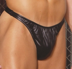 Mens Leather Thong