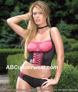 Mesh Lycra Top and Panty
