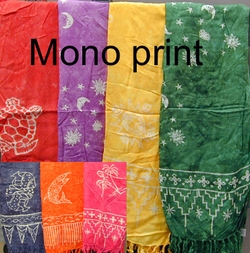 Mono Print Sarongs