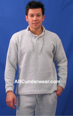 Nantucket Fleece Button Sweatshirt