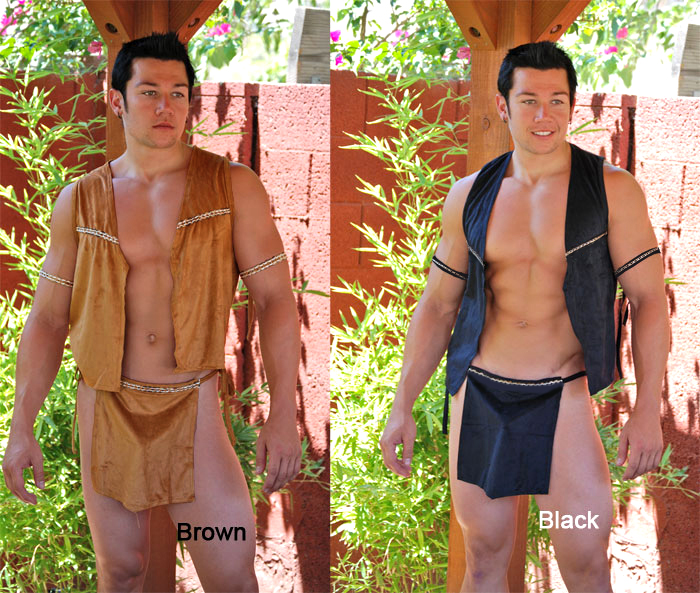 Native Warrior Costume - Mens Sexy Halloween Costumes  sc 1 st  ABC Underwear & Mens Sexy Halloween Costumes - Native Warrior Costume
