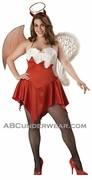 Naughty and Nice Plus Costume