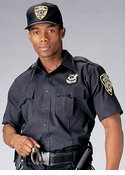 Navy blue Police and Security Shirt