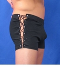 NDS Wear Black Side Lace-up Short