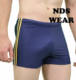 NDS Wear Yellow Side Stripe Swimsuit