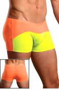 Neon Ray Trunk Short - Yellow