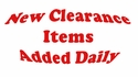 New Clearance Items