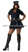 Officer Naughty Plus Costume
