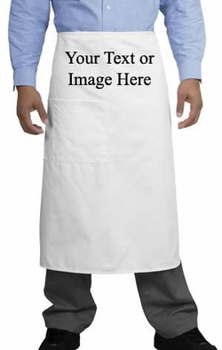Personalized Custom Print Bistro Apron