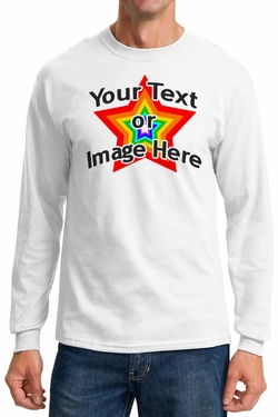 Personalized Long Sleeve Shirt