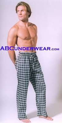 Plaid Men's Lounge Pants