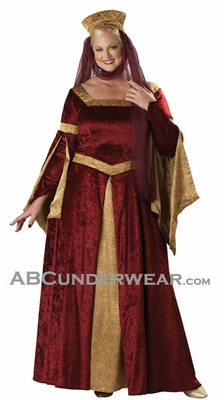 Plus Size Maid Marian Costume