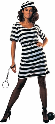 Prisoner Lady Costume