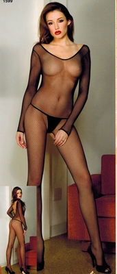 Reversible Fishnet Bodystocking