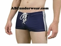Rex Side Stripe Swimshort with Lace up Front