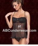 Rhinestone Wired Bustier with Thong