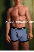 RIPS Boxer Brief Colors in Blue - Clearance
