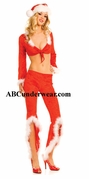 Santa Pants set Costume with Hat - Clearance