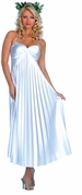 Satin Athenian Goddess Costume - Closeout