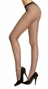 Seamless Spandex Mini Diamond Fishnet Pantyhose