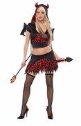 Sexy Deviant Devil Women's Costume