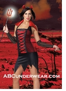 Sexy Devil Costume - Clearance