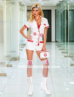 Sexy Female Doctor Costume-Closeout