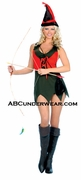 Sexy Female Robin Hood Costume - Closeout