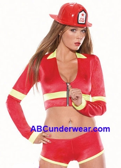 Sexy Firefighter Girl Costume