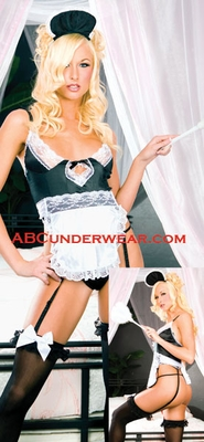 Sexy French Maid Costume - Clearance