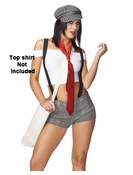 Sexy Newspaper Girl Costume - Clearance Fantasy Costume