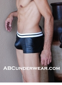 Sexy Pleather Low Rise Shorts