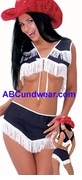 Sexy Rodeo Girl Costume - Clearance