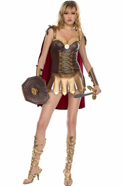 Sexy Roman Warrior Woman Costume-Clearance