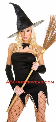 Sexy Witch Dress Costume - Closeout