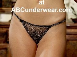 Silver Cat Women's G-String