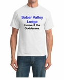 Sober Valley Lodge, Home of the Goddesses T-shirt