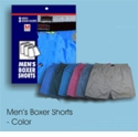 Solid Men's Boxer Short 3 Pack
