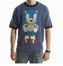 Sonic The Hedghog Distressed T-Shirt